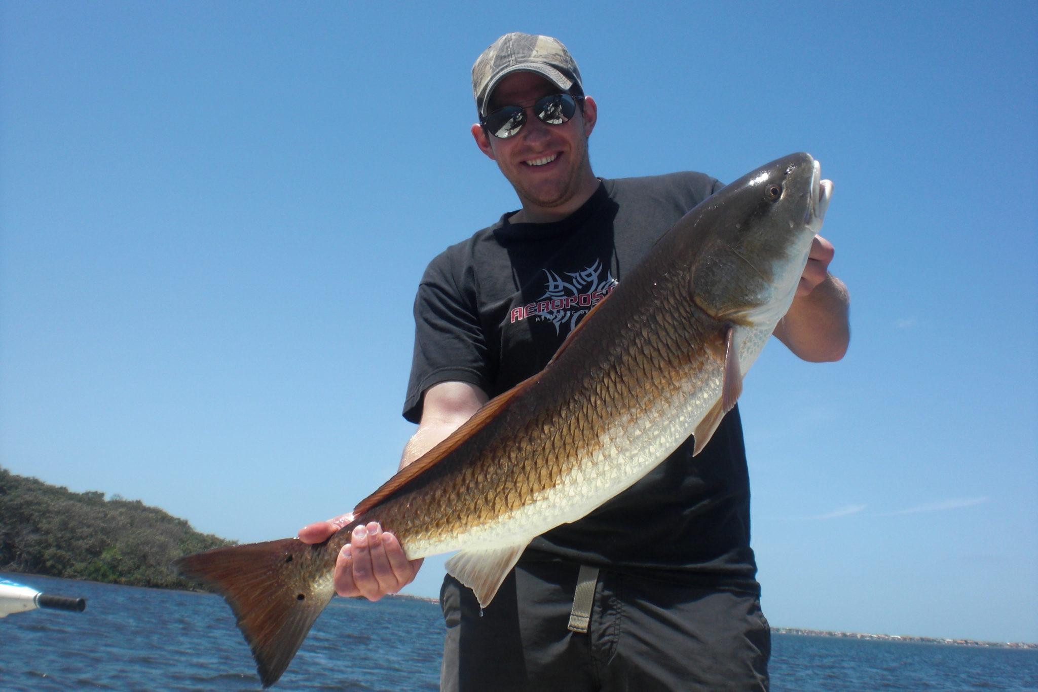 Redfish in April 2010