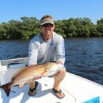 Clearwater fishing charter customer